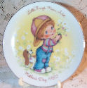 1982 Avon Mothers Day Plate