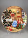 2009 Avon Collectible Christmas Plate-Caucasian-New in Original Box