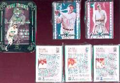 1995 Babe Ruth Metal Collector Card Set