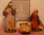 1996 Holy Family- Avon Heirloom Nativity Collection